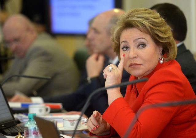 Spiker Rady Federacji Rosyjskiej Walentyna Matwijenko