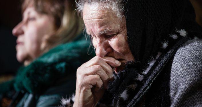 Ukraińcy na uroczystościach upamiętniających tragiczne wydarzenia z 20 lutego 2014 roku