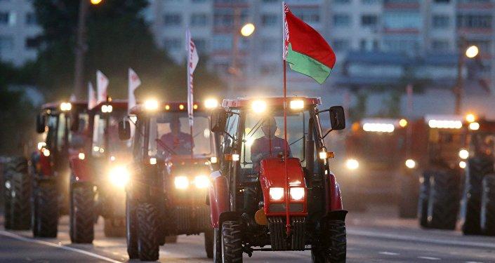Dzień Niepodległości w Mińsku, Białoruś