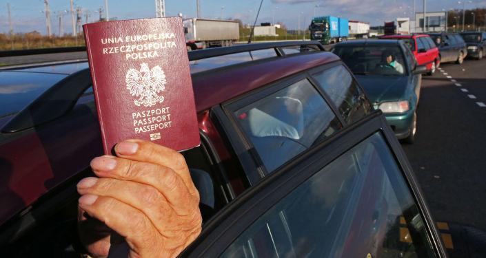 Przejście graniczne Mamontowo 2 na granicy z Polską