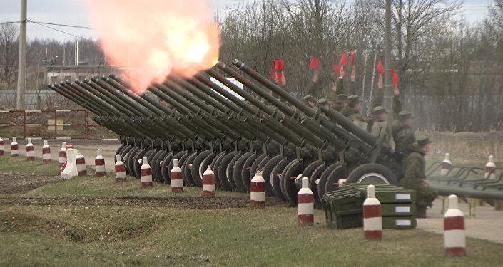 Salwy z broni z czasów II WŚ