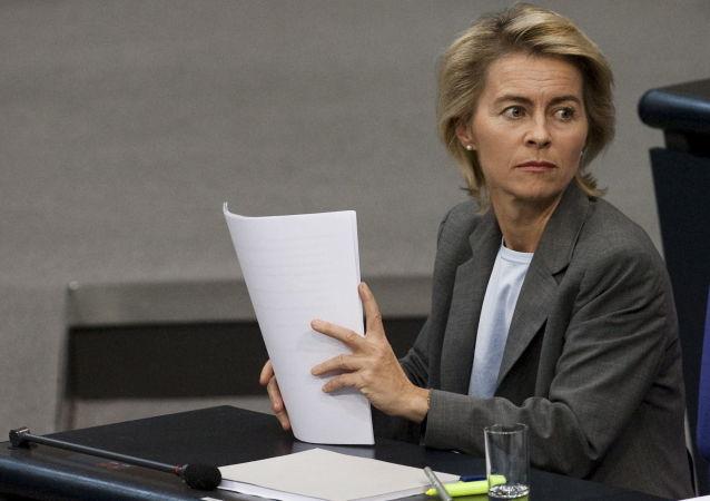 Minister obrony Niemiec Ursula von der Leyen