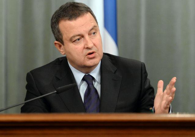Wicepremier i minister spraw zagranicznych Serbii Ivica Dačić