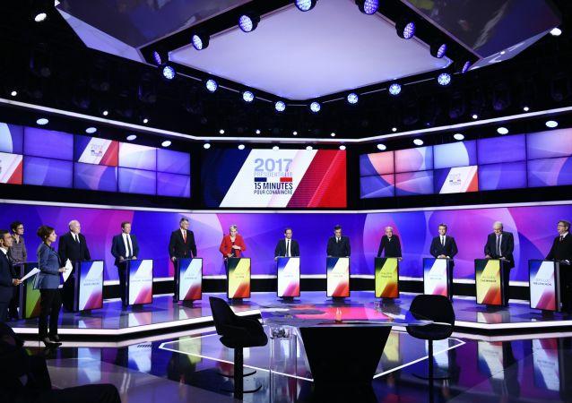 Przedwyborcza debata we Francji