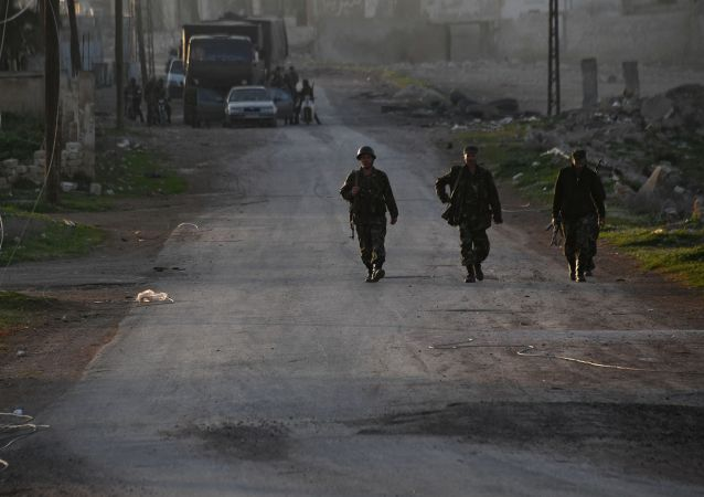 Sytuacja w prowincji Hama, Syria