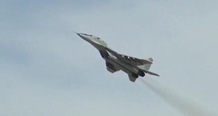 Egzamin w przestworzach: Putin sprawdził gotowość załóg MiG-29