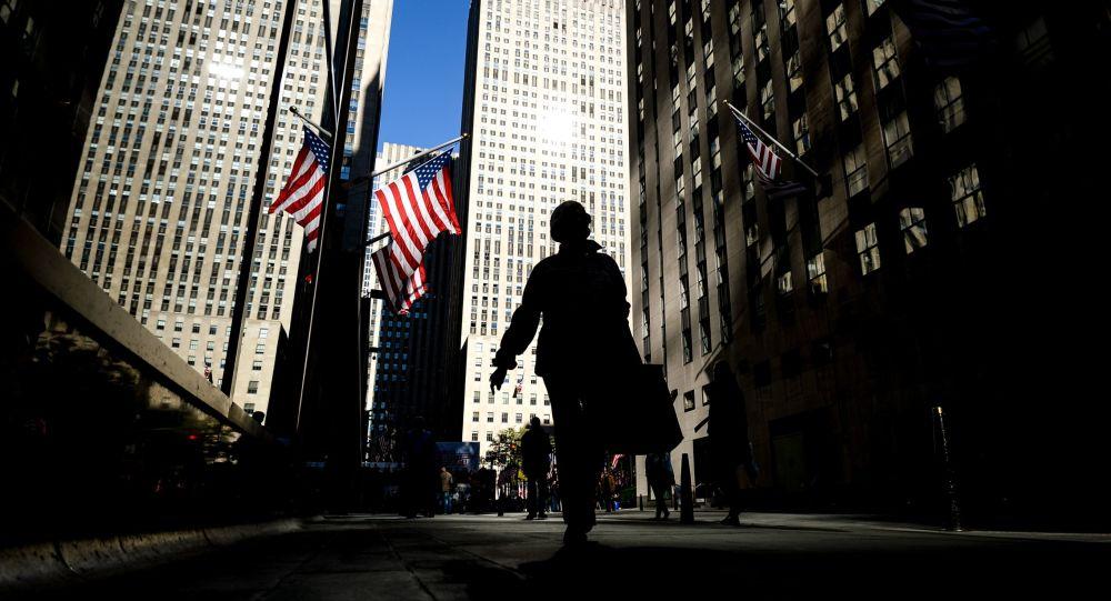Na jednej z ulic w Nowym Jorku