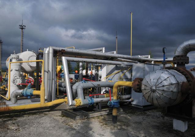 Stacja kompresji gazu Wołowiec w obwodzie zakarpackim