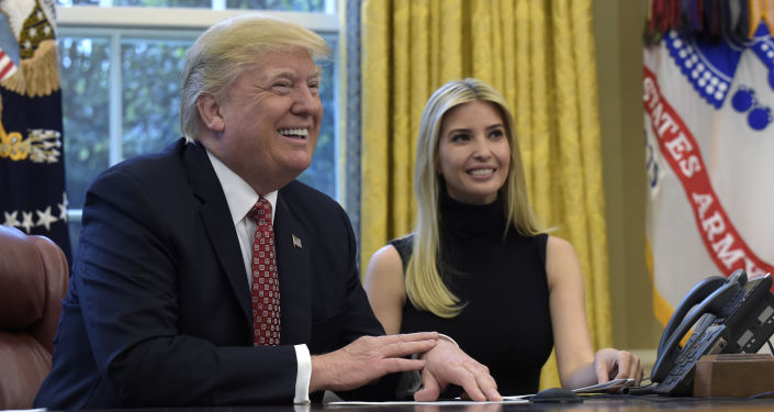 Donald i Ivanka Trump
