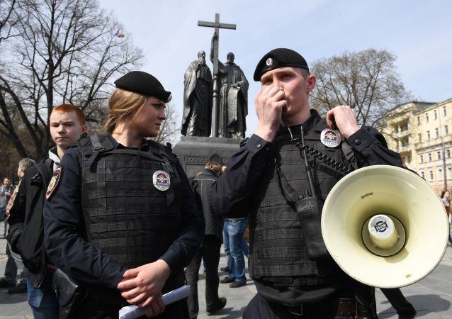 """Protesty aktywistów """"Otwartej Rosji"""" w rosyjskich miastach"""