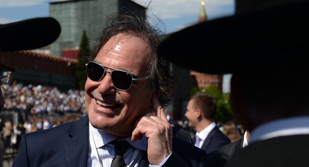 Oliver Stone w Moskwie