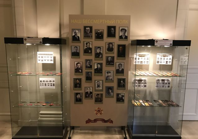 Wystawa Nasz Nieśmiertelny Pułk zorganizowana przez stałe przedstawicielstwo Rosji przy UE