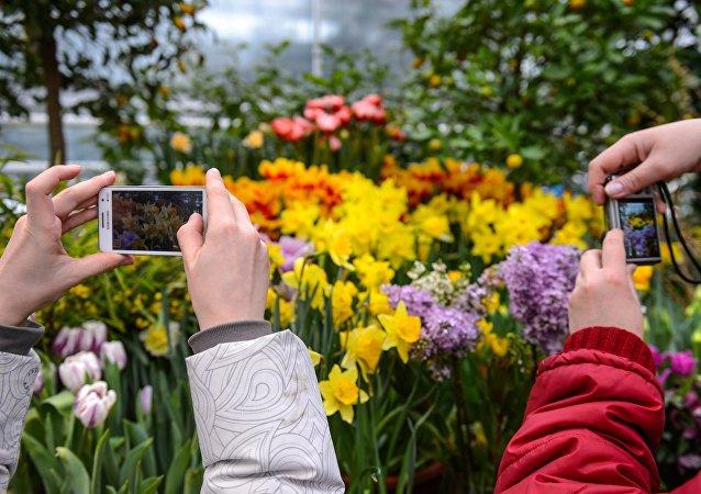 III wystawa Próba wiosny w Moskwie.