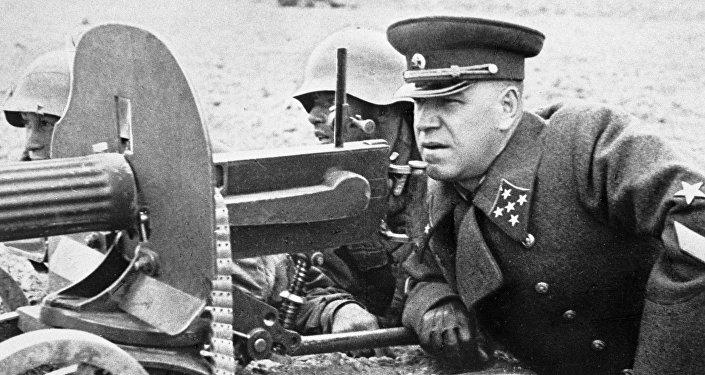 Marszałek Gieorgij Żukow.