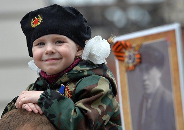"""""""Nieśmiertelny Pułk w Kazaniu, 9 maja 2017"""