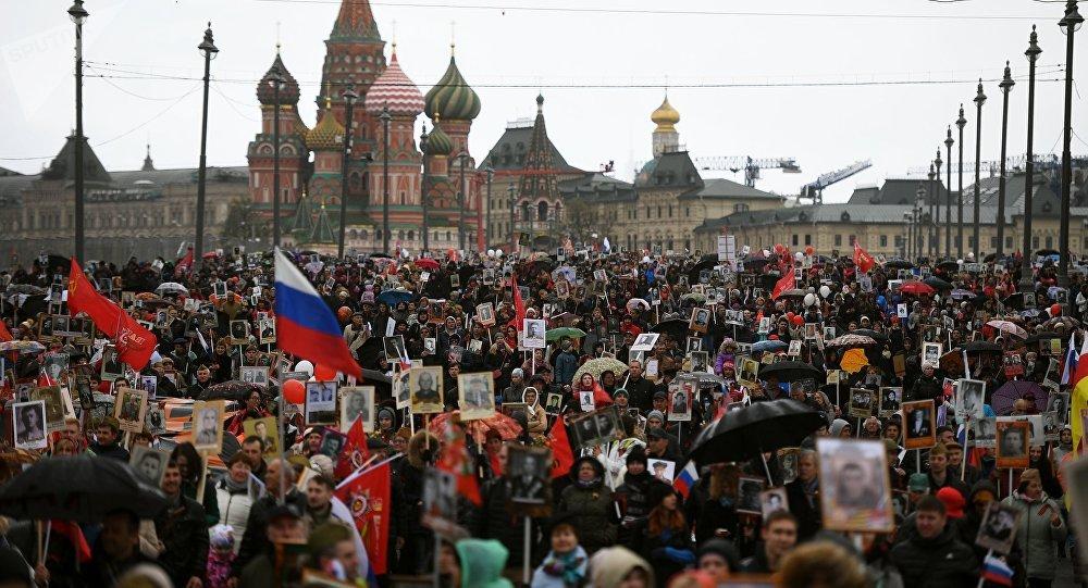 """Akcja """"Nieśmiertelny Pułk w Moskwie"""