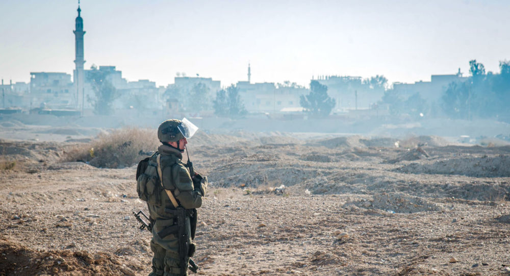 Rosyjscy saperzy w Palmirze