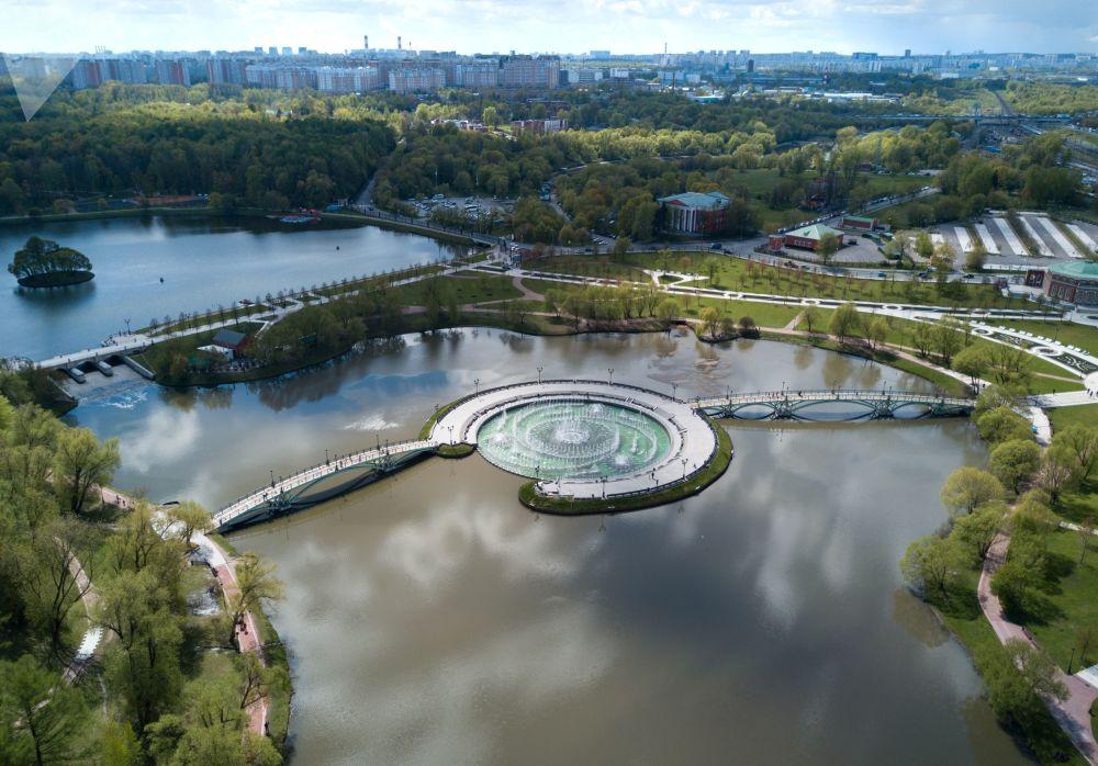 Park i pałac zostały zbudowane pod koniec XVIII wieku i były przeznaczone na rezydencję Katarzyny II, jednak caryca nie dożyła do zakończenia budowy.