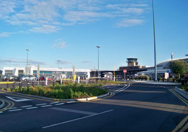 Międzynarodowe lotnisko Leeds Bradford w środkowej części Wielkiej Brytanii