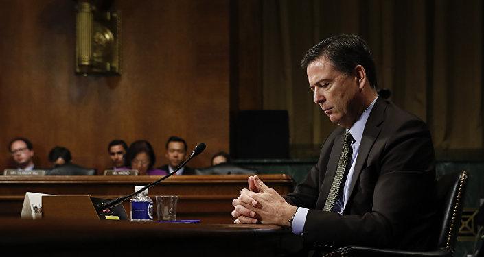Dyrektor FBI James Comey, 3 maja 2017 roku