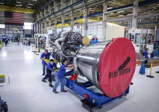 Silnik BE-4 Blue Origin