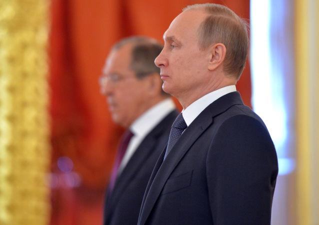 Władimir Putin, Sergiej Ławrow