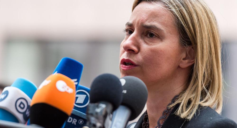 Szefowa dyplomacji UE Federica Mogherini
