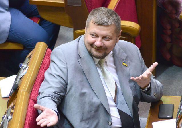 Deputowany Rady Najwyższej Ukrainy z ramienia Partii Radykalnej Ihor Mosijczuk