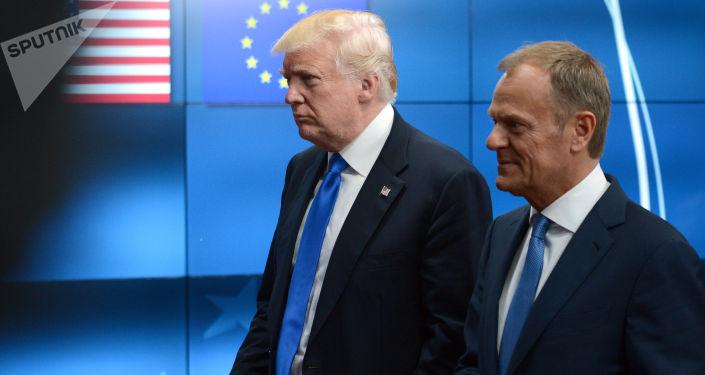 Donald Trump i Donald Tusk