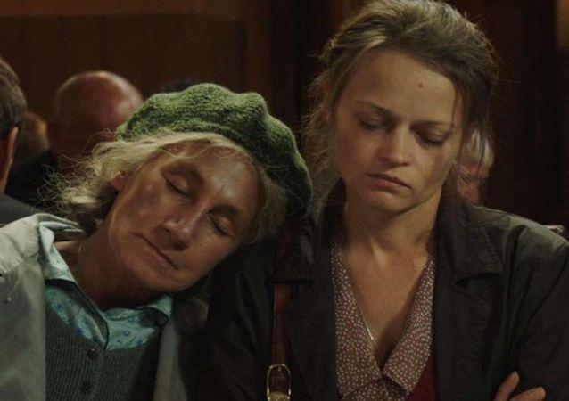 Kadr z filmu Łagodna (2017)