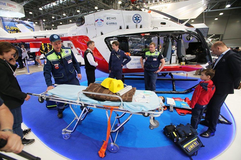 Najważniejsze wydarzenia na targach helikopterowych HeliRussia 2017