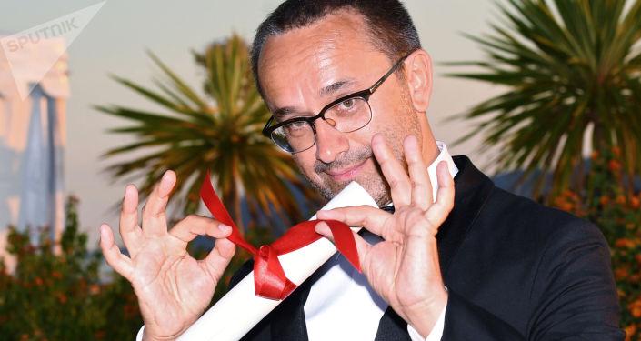 Rosyjski reżyser Andriej Zwiagincew, zwycięzca 70. Międzynarodowego Festiwalu Filmowego w Cannes