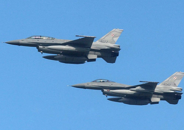 Myśliwce F-16 polskich sił zbrojnych