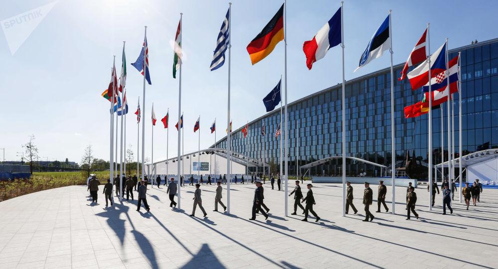 Flagi krajów członkowskich NATO
