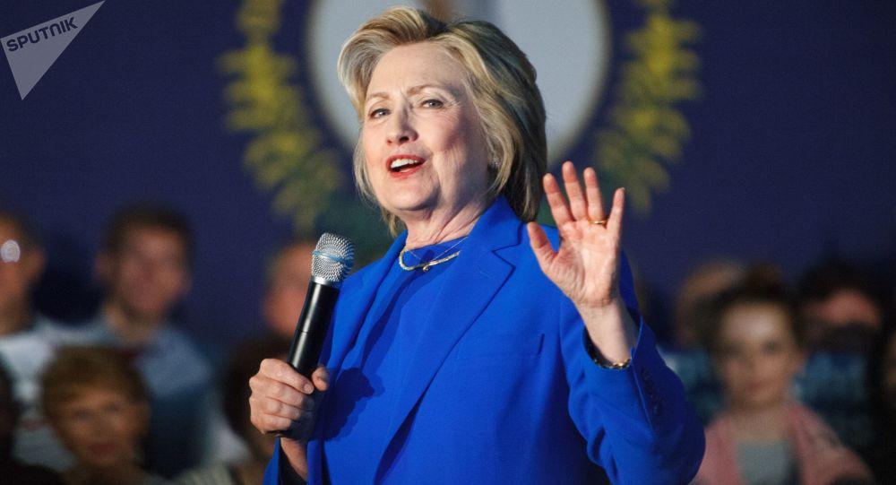 Kandydatka na prezydenta USA Hillary Clinton podczas kampanii wyborczej w stanie Kentucky. Zdjęcie archiwalne