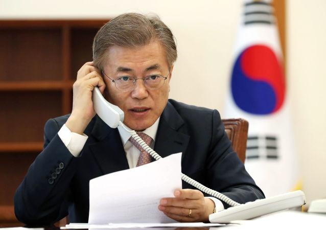 Prezydent Korei Południowej Moon Jae-in