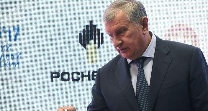 Szef Rosnieftu Igor Sieczin
