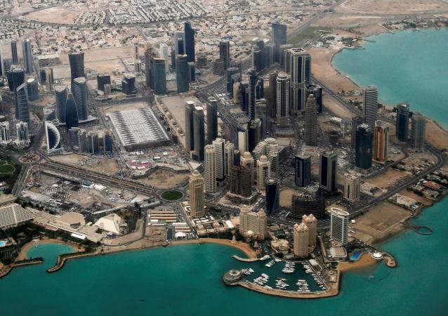 Widok na Dohę, stolicę Kataru