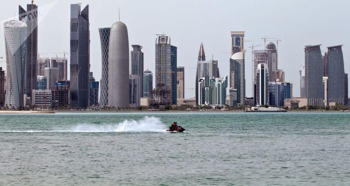 Widok na stolicę Kataru - miasto Doha