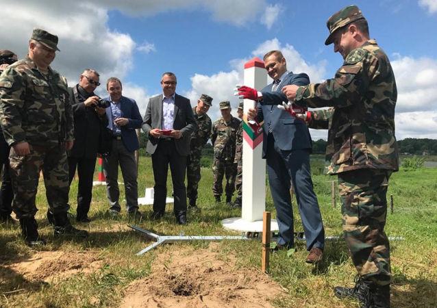 Rozpoczęcie budowy ogrodzenia na granicy Litwy i Rosji