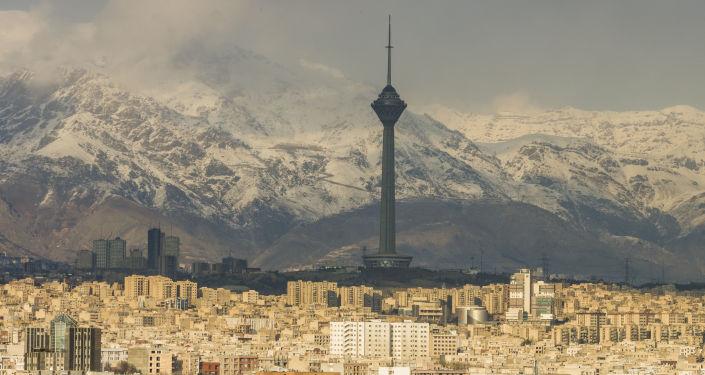 Panorama Teheranu, Iran