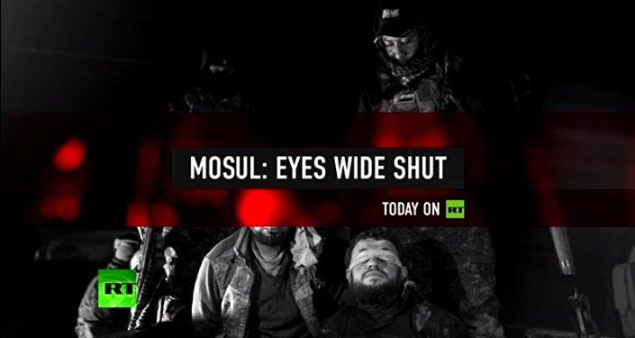 RT pokazał, jak iraccy żołnierze torturują mieszkańców Mosulu
