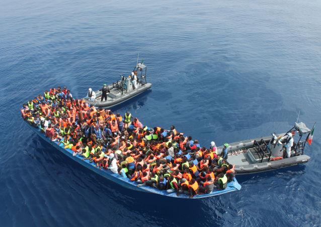 Morze Śródziemne, operacja ratunkowa