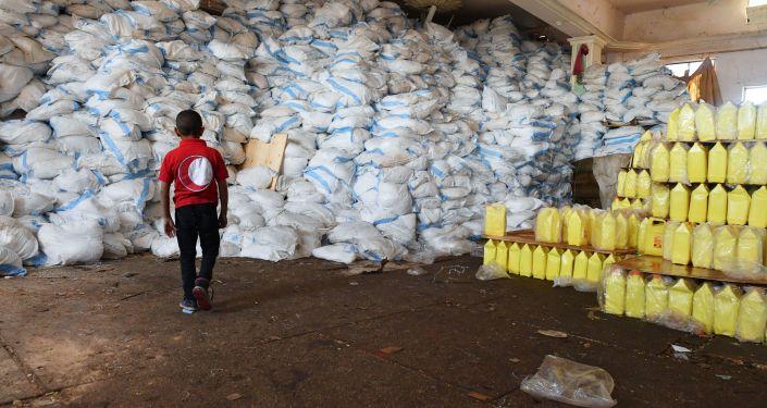 Pomoc humanitarna w syryjskim Dajr az-Zaur