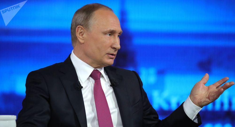 Gorąca linia z prezydentem Rosji Władimirem Putinem