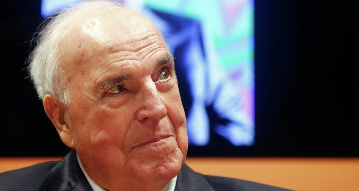 Helmut Kohl, były kanclerz RFN