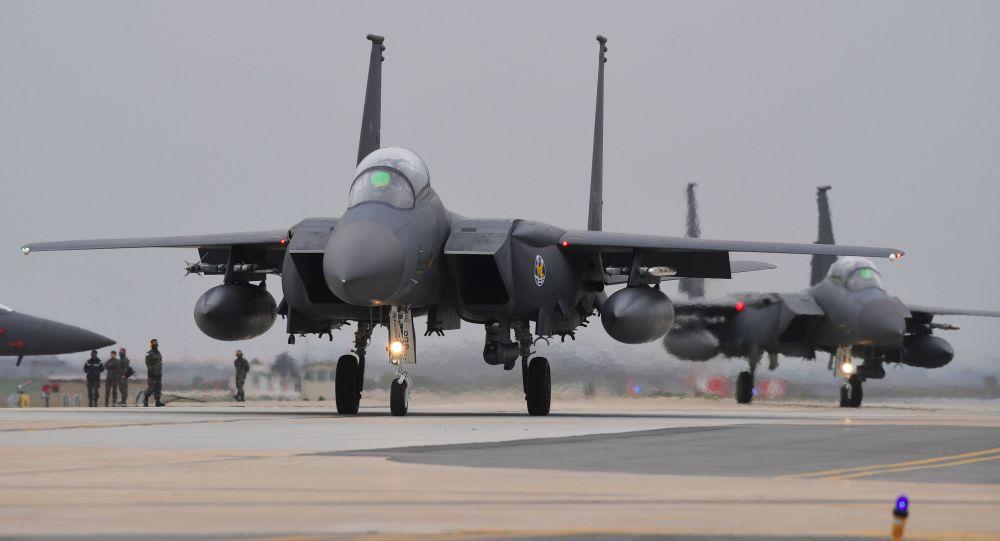 Niszczyciele F-15K południowokoreańskich sił powietrznych