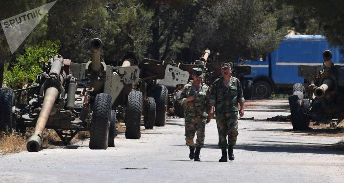 Prowincja Hama, zakład naprawy elementów wojskowych