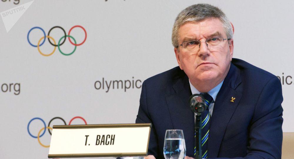 Szef Międzynarodowego Komitetu Olimpijskiego Thomas Bach