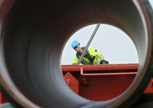 Budowa gazociągu Nord Stream
